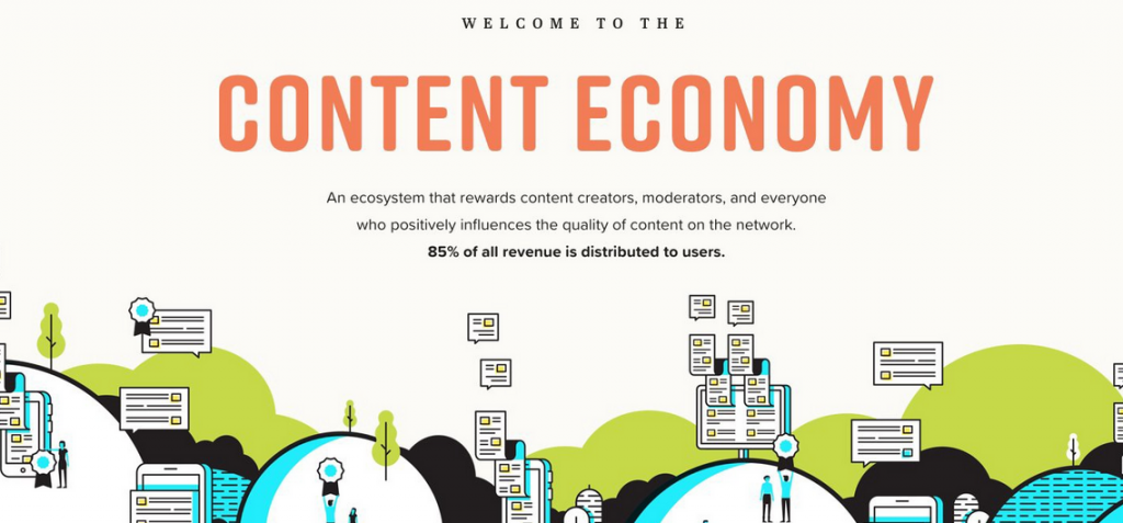 Welcome to the content economy