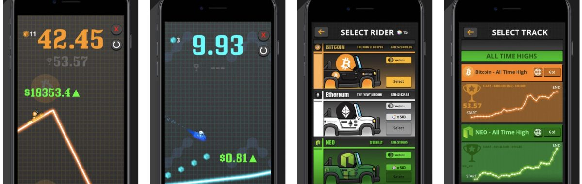 Crypto Rider Is a Racing Game Which Lets You Ride Cryptocurrency Prices