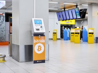 Schiphol Airport Cryptocurrency ATM