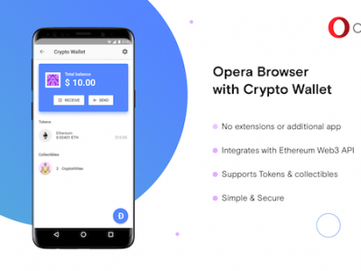 opera browser with built-in crypto wallet