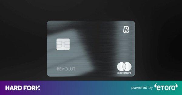 Revolut Metal Debit Card Will Give You Cryptocurrency Cashback Rewards